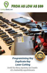 CarKeysGeeks On-site keys replacement