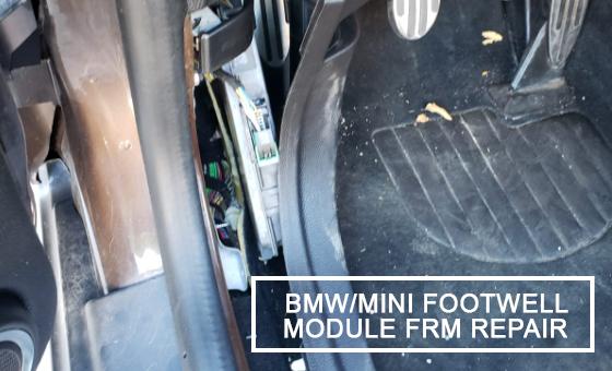 CarKeyGeeks - BMW - MINI footwell module FRM repair